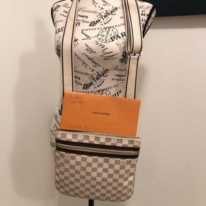 Authentic Louis Vuitton Azur Bosphore Crossbody